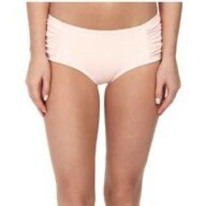 Kate Spade Swim Shirred Hipster Bikini Bottom XS